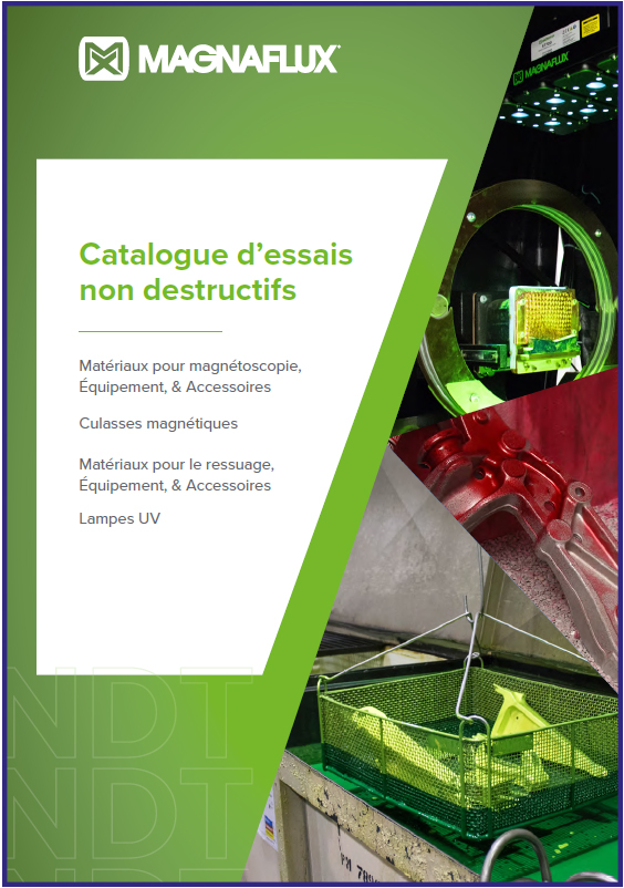 Catalogue magnétoscopie - ressuage